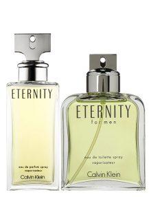 Eternity for Men, edT 100ml by Calvin Klein + Eternity for Women, edP 100ml by Calvin Klein - Bundle Offer for Couple!