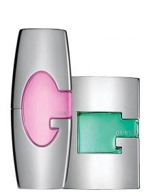 Bundle for Couples: Guess Man Green for Men, edT 75ml by Guess  Guess Pink for Women, edP 75ml by Guess