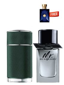 Bundle for Men: Icon Racing for Men, edP 100ml by Dunhill  Mr Burberry for Men, edT 100ml by Burberry  Dylan Miniature for Men, 5ml by Versace Free!