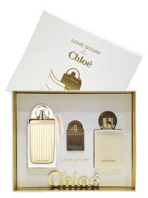 Love Story Gift Set for Women (edP 75ml + Perfumed Body Lotion + edP 7.5ml) by Chloe