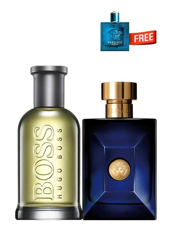 Bundle For Men Boss Bottled No 6 For Men Edt 100ml By Hugo Boss