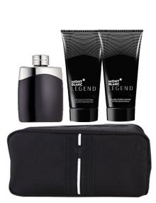 Legend Gift Set for Men (edT 100ml + After Shave Balm + Shower Gel + Pouch) by Mont Blanc