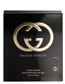 Gucci Guilty Purse Spray for Women, edT 15mlx4 by Gucci
