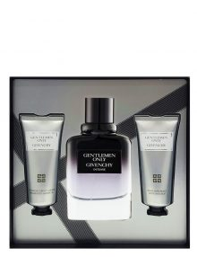 Gentlemen Only Intense Gift Set (edT 100ml + After Shave Balm + Shower Gel) by Givenchy