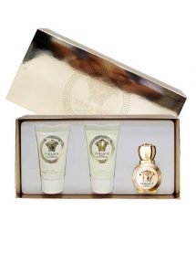Eros Miniature Gift Set for Women (edP 5ml + Luxury Bath and Shower Gel 25ml + Luxury Body Lotion 25ml) by Versace