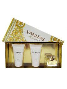 Vanitas Miniature Gift Set for Women (edT 5ml + Vanity Bath and Shower Gel 25ml + Vanity Body Lotion 25ml) by Versace