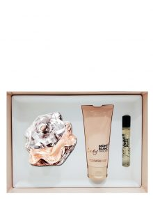 Lady Emblem Gift Set for Women (edP 75ml + Body Lotion + 7.5ml mini) Mont Blanc