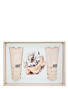 Lady Emblem Gift Set for Women (edP 75ml + Perfumed Body Lotion + Perfumed Shower Cream) by Mont Blanc