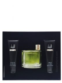 Dunhill Brown Gift Set for Men (edT 75ml + Shower Gel + After Shave Balm) by Dunhill