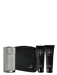 Icon Gift Set for Men (edP 100ml + After Shave Balm + Shower Gel + Bag) by Dunhill