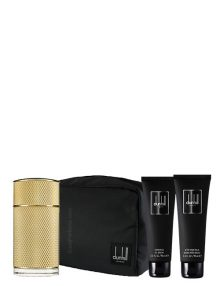 Icon Absolute Gift Set for Men (edP 100ml + After Shave Balm + Shower Gel + Bag) by Dunhill