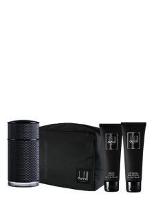 Icon Elite Gift Set for Men (edP 100ml + After Shave Balm + Shower Gel + Bag) by Dunhill