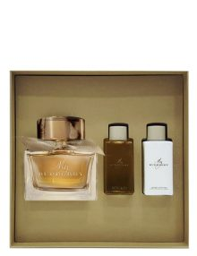 My Burberry Gift Set for Women (edP 90ml + Bathing Gel + Body Lotion) by Burberry