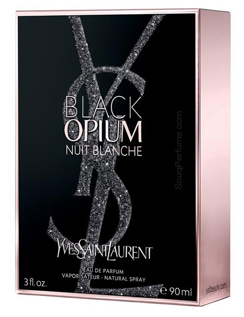 Black Opium Nuit Blanche for Women, edP 90ml by YSL - Yves Sain Laurent