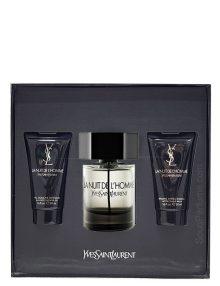 La Nuit De L'Homme Gift Set for Men (edT 100ml + Shower Gel + After Shave Balm) by YSL - Yves Saint Laurent
