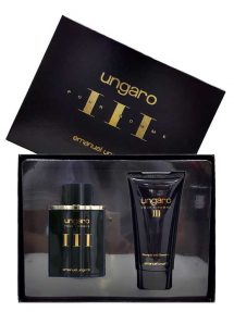 Ungaro pour Homme Gift Set for Men (edT 100ml + Shampoo and Shower Gel) by Ungaro