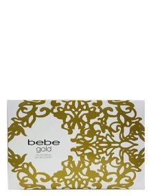 Bebe Gold Gift Set for Women (edP 100ml + Shower Gel + Body Lotion) by Bebe
