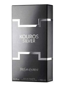 Kouros Silver for Men, edT 100ml by YSL - Yves Saint Laurent