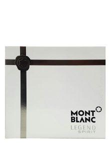 Legend Spirit Gift Set for Men (edT 100ml + After Shave Balm + Shower Gel) by Mont Blanc