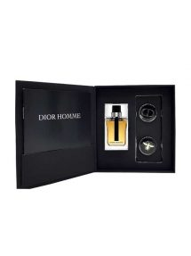 Dior Homme Miniature Gift Set for Men (edT 10ml + 2 Badges) by Christian Dior