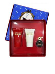 Cheap and Chic Miniature Gift Set for Women (edT 4.9ml + Shower Gel + Body Lotion) by Moschino