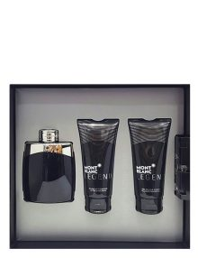 Legend Gift Set for Men (edT 100ml + After Shave Balm + Shower Gel + Mini 1.2ml) by Mont Blanc