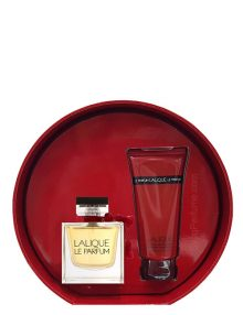 Lalique Le Parfum Gift Set for Women (edP 100ml + Shower Gel) by Lalique