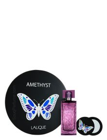 Amethyst Gift Set for Women (edP 100ml + Mirror) by Lalique