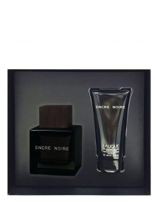 Encre Noire Gift Set for Men (edT 100ml + Body and Hair Shower Gel) by Lalique