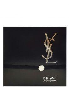 L'Homme Gift Set for Men (edT 100ml + Shower Gel + After Shave Balm) by YSL - Yves Saint Laurent