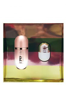 212 Vip Rose Gift Set for Women (edP 80ml + Mini 20ml) by Carolina Herrera