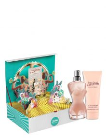 Classique Gift Set for Women (edT 100ml + Body Lotion) by Jean Paul Gaultier