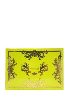Yellow Diamond Gift Set for Women (edT 90ml + Perfumed Body Lotion + Bag Tag) by Versace