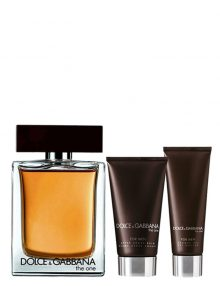 The One Travel Set for Men (edT 100ml + After Shave Balm + Shower Gel) by Dolce & Gabbana