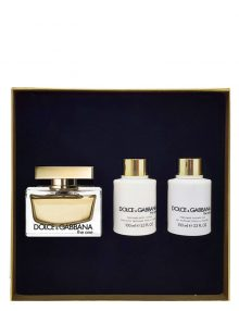 The One Gift Set for Women (edP 75ml + Perfumed Body Lotion + Perfumed Shower Gel) by Dolce & Gabbana