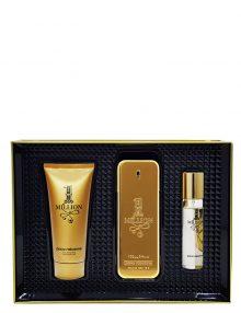 1 Million Gift Set for Men (edT 100ml + Shower Gel + Travel Spray edT 10ml) by Paco Rabanne