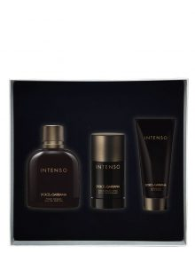 Intenso Gift Set for Men (edP 125ml + Deodorant Stick + Shower Gel) by Dolce and Gabbana