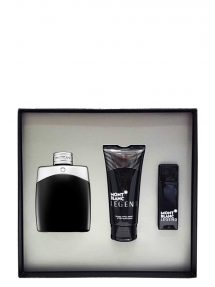 Legend Gift Set for Men (edT 100ml + edT 15ml + After Shave Balm) by Mont Blanc