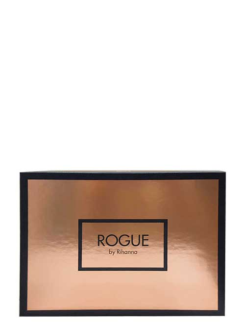 Rogue Gift Set for Women (edP 125ml + Body Lotion + edP Roller Ball) by Rihanna