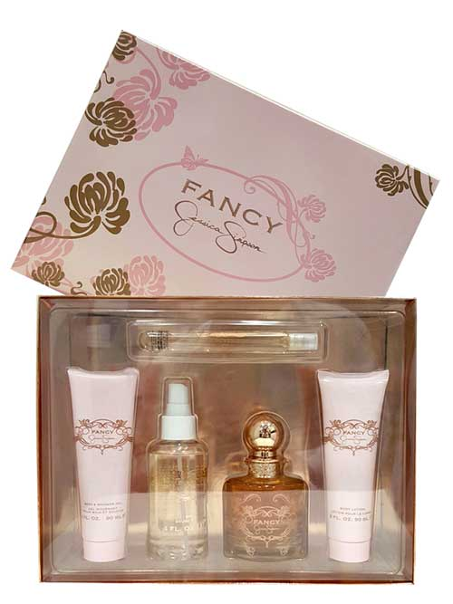 Fancy Gift Set for Women (edP 100ml + Bath and Shower Gel + Body Lotion + Body Mist + edP 10ml) by Jessica Simpson