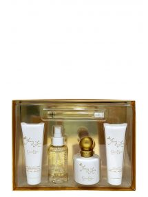 Fancy Love Gift Set for Women (edP 100ml + Body Mist + Body Lotion + Bath and Shower Cream + Mini 10ml) by Jessica Simpson