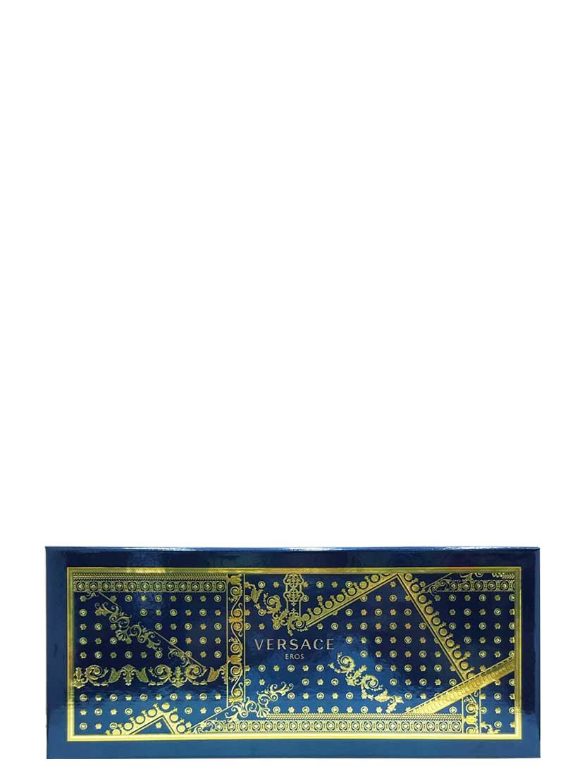 Eros Gift Set for Men (edT 100ml + Invigorating Shower Gel + Black Trousse) by Versace