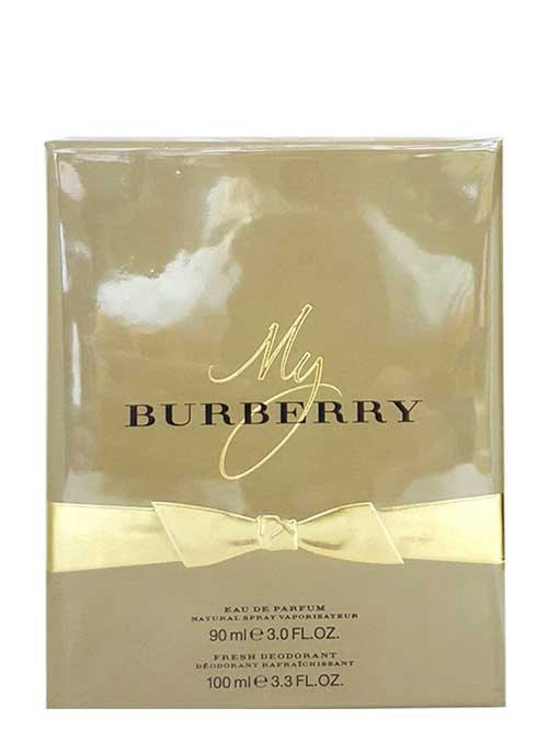 My Burberry Travel Set for Women (edP 90ml + Fresh Deodorant) by Burberry