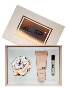 Lady Emblem Gift Set for Women (edP 75ml + Perfumed Body Lotion + edP 7.5ml) by Mont Blanc