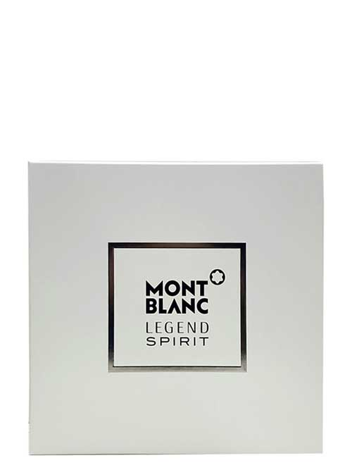Legend Spirit Gift Set for Men (edT 100ml + After Shave Blam + edT 15ml) by Mont Blanc