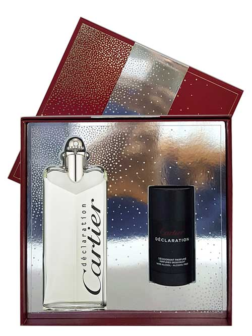 Declaration Gift Set for Men (edT 100ml + Deodorant Stick) by Cartier