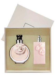 Valentina Gift Set for Women (edP 80ml + Satin Body Lotion) by Valentino