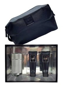 Icon Gift Set for Men (edP 100ml + Shower Gel + After Shave Balm + Toiletry Bag) by Dunhill
