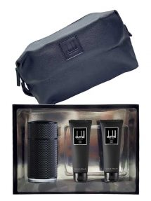 Icon Elite Gift Set for Men (edP 100ml + Shower Gel + After Shave Balm + Toiletry Bag) by Dunhill