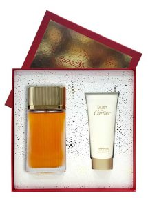 GOLD Must de Cartier Gift Set for Women (edP 100ml + Satin Body Cream) by Cartier